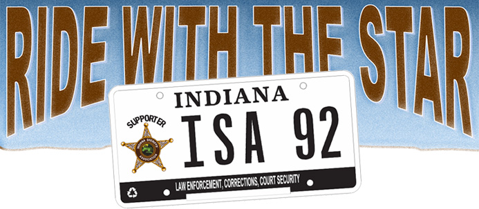 Specialty License Plates – Indiana Sheriff's Association