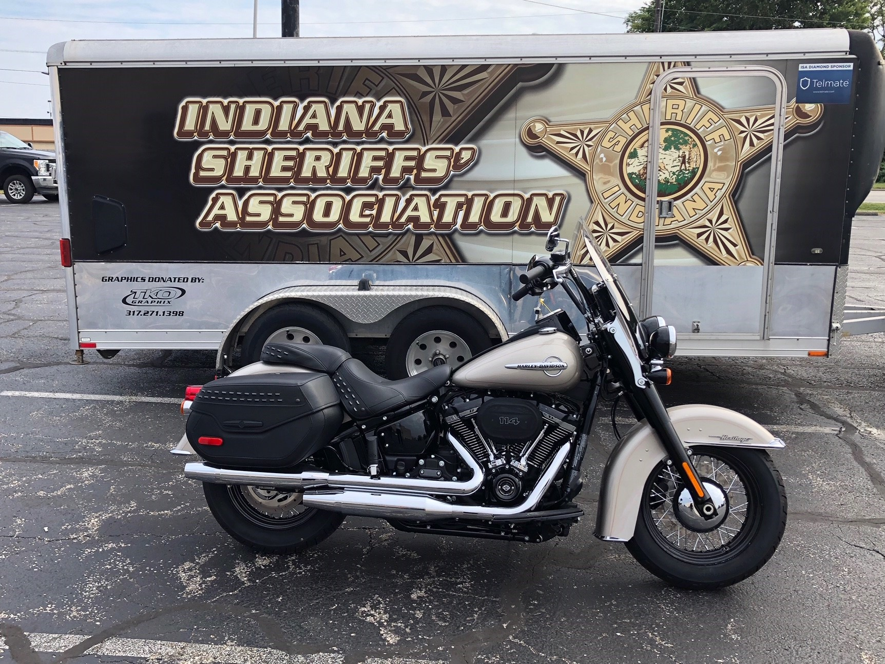 <b>Motorcycle Raffle</b><br> YOU could win this ……